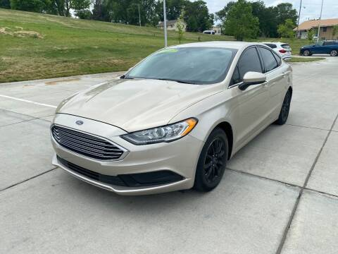 2017 Ford Fusion for sale at BIG O MOTORS LLC in Omaha NE