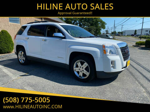 2013 GMC Terrain for sale at HILINE AUTO SALES in Hyannis MA