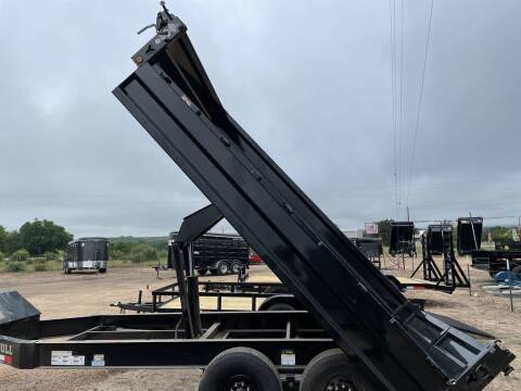 """2022 IRON BULL - Deckover  96"""" X 14'- Dr for sale at LJD Sales in Lampasas TX"""