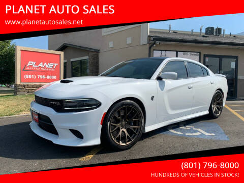 2018 Dodge Charger for sale at PLANET AUTO SALES in Lindon UT