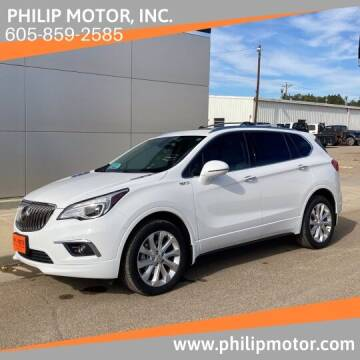 2017 Buick Envision for sale at Philip Motor Inc in Philip SD
