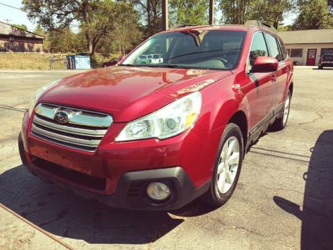 2013 Subaru Outback for sale at IDEAL IMPORTS WEST in Rock Hill SC