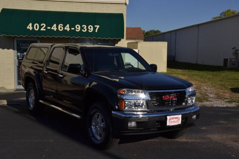 2012 GMC Canyon for sale at Eastep's Wheels in Lincoln NE