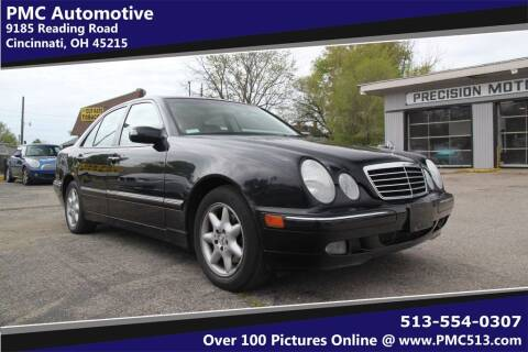 2000 Mercedes-Benz E-Class for sale at PMC Automotive in Cincinnati OH