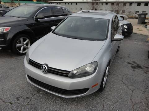 2011 Volkswagen Golf for sale at HAPPY TRAILS AUTO SALES LLC in Taylors SC