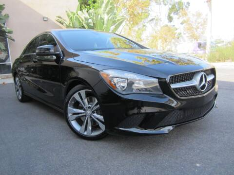 2016 Mercedes-Benz CLA for sale at ORANGE COUNTY AUTO WHOLESALE in Irvine CA