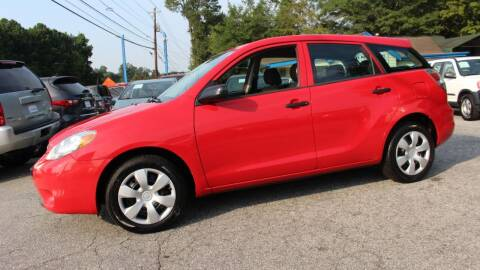 2007 Toyota Matrix for sale at NORCROSS MOTORSPORTS in Norcross GA