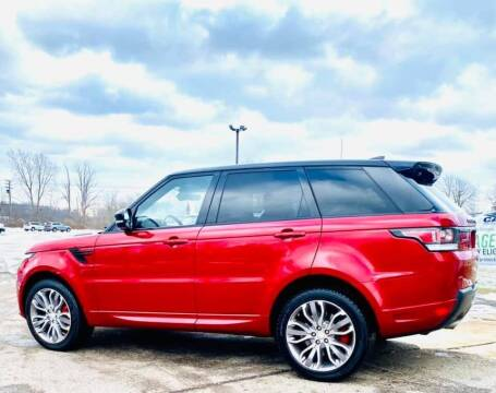 2017 Land Rover Range Rover for sale at JEREMYS AUTOMOTIVE in Casco MI