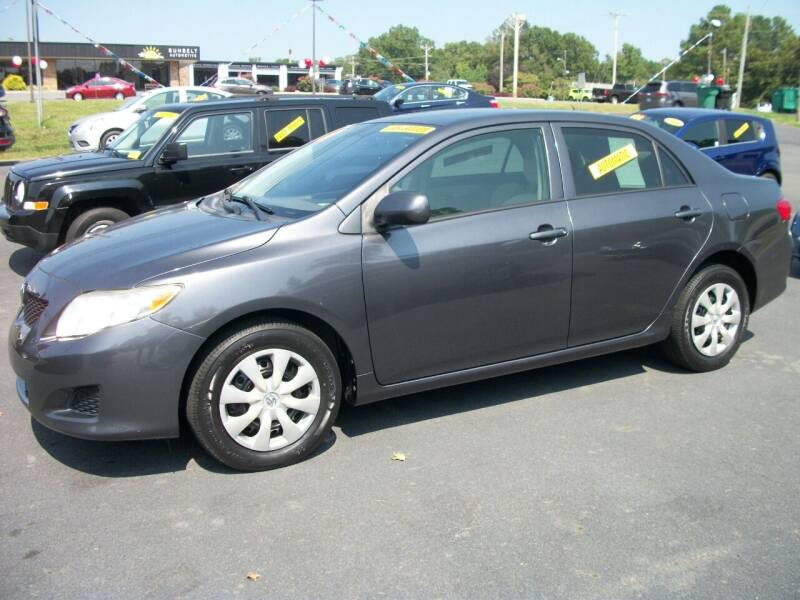 2010 Toyota Corolla for sale at Lentz's Auto Sales in Albemarle NC