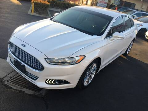 2014 Ford Fusion for sale at CARSTER in Huntington Beach CA