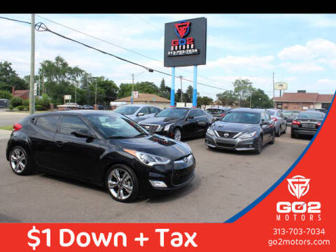 2016 Hyundai Veloster for sale at Go2Motors in Redford MI