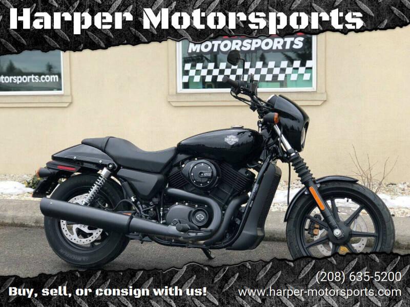 2018 Harley-Davidson XG 500 Street for sale at Harper Motorsports in Post Falls ID