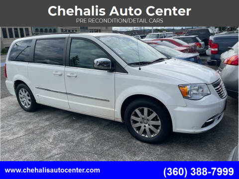 2011 Chrysler Town and Country for sale at Chehalis Auto Center in Chehalis WA