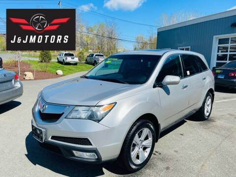 2012 Acura MDX for sale at J & J MOTORS in New Milford CT