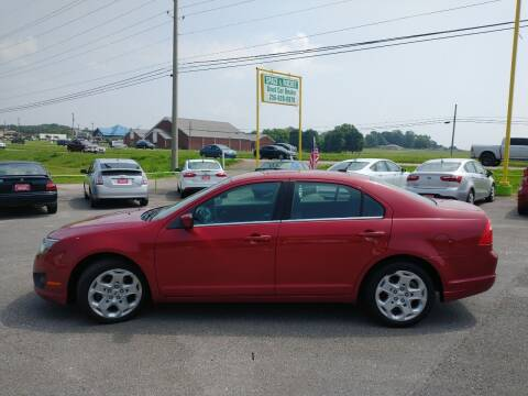2010 Ford Fusion for sale at Space & Rocket Auto Sales in Meridianville AL
