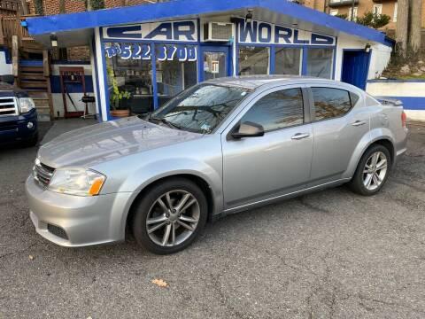 2013 Dodge Avenger for sale at Car World Inc in Arlington VA