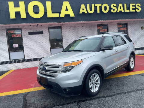 2012 Ford Explorer for sale at HOLA AUTO SALES CHAMBLEE- BUY HERE PAY HERE - in Atlanta GA