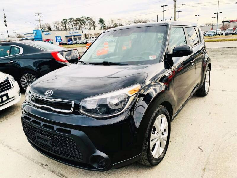 2015 Kia Soul for sale at Auto Space LLC in Norfolk VA