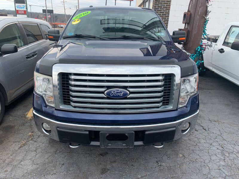 2010 Ford F-150 for sale at JORDAN AUTO SALES in Youngstown OH