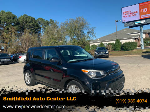 2016 Kia Soul for sale at Smithfield Auto Center LLC in Smithfield NC