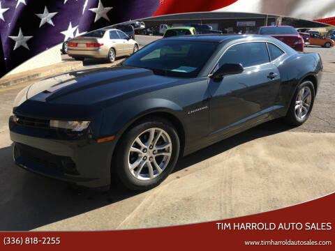 2014 Chevrolet Camaro for sale at Tim Harrold Auto Sales in Wilkesboro NC
