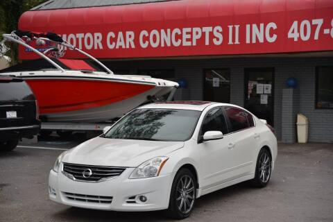 2010 Nissan Altima for sale at Motor Car Concepts II - Apopka Location in Apopka FL