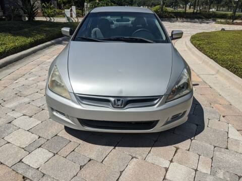 2006 Honda Accord for sale at M&M and Sons Auto Sales in Lutz FL