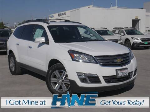 2017 Chevrolet Traverse for sale at John Hine Temecula in Temecula CA