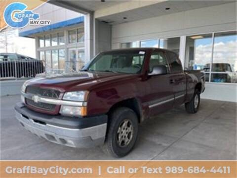 2003 Chevrolet Silverado 1500 for sale at GRAFF CHEVROLET BAY CITY in Bay City MI