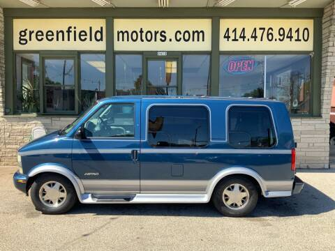 2002 Chevrolet Astro for sale at GREENFIELD MOTORS in Milwaukee WI