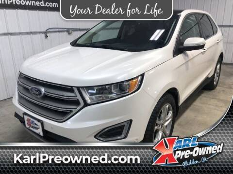 2015 Ford Edge for sale at Karl Pre-Owned in Glidden IA