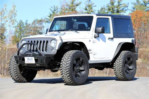 2014 Jeep Wrangler for sale at Miers Motorsports in Hampstead NH