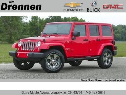 2017 Jeep Wrangler Unlimited for sale at Jeff Drennen GM Superstore in Zanesville OH