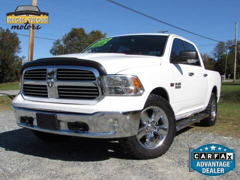2016 RAM Ram Pickup 1500 for sale at High-Thom Motors in Thomasville NC