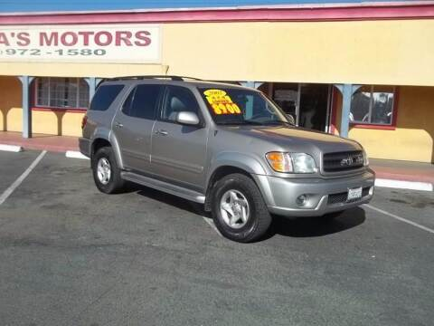 2002 Toyota Sequoia for sale at Atayas Motors INC #1 in Sacramento CA