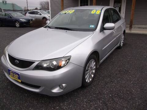 2008 Subaru Impreza for sale at Lakes Region Auto Source LLC in New Durham NH