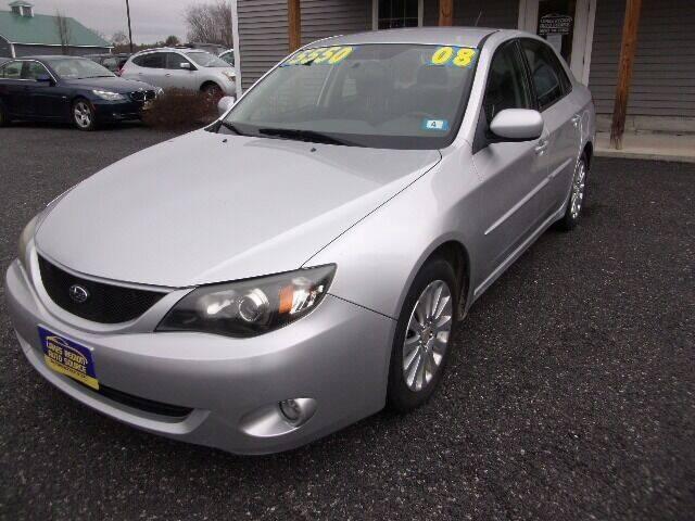 2008 Subaru Impreza for sale at Lakes Region Auto Source LLC in New Durham NH