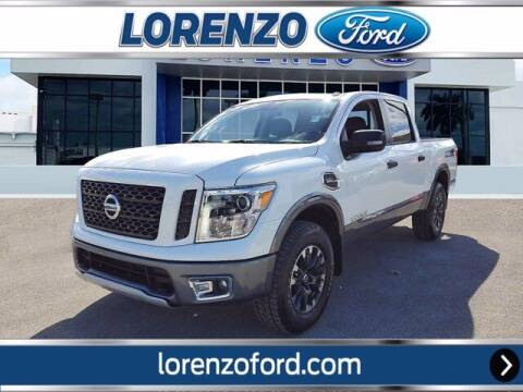 2017 Nissan Titan for sale at Lorenzo Ford in Homestead FL