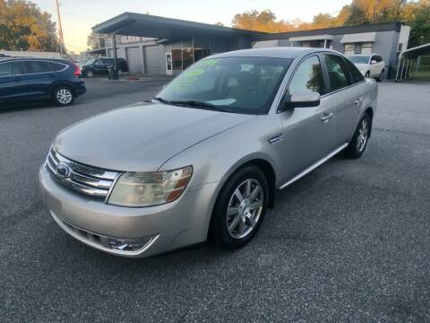 2008 Ford Taurus for sale at DON BAILEY AUTO SALES in Phenix City AL