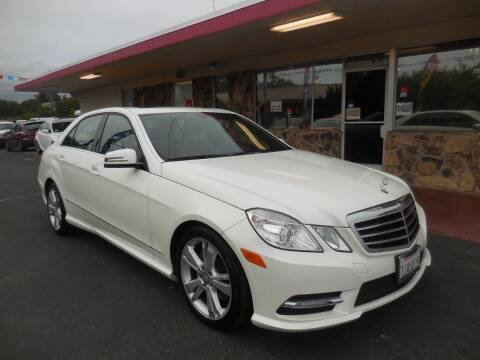 2013 Mercedes-Benz E-Class for sale at Auto 4 Less in Fremont CA