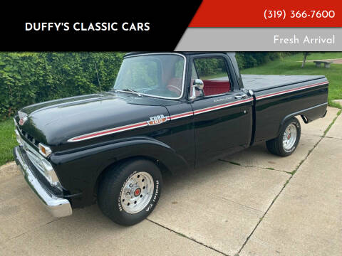 1964 Ford F-100 for sale at Duffy's Classic Cars in Cedar Rapids IA