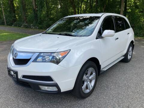 2011 Acura MDX for sale at Lou Rivers Used Cars in Palmer MA