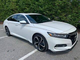 2018 Honda Accord for sale at Limitless Garage Inc. in Rockville MD