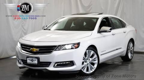 2016 Chevrolet Impala for sale at ZONE MOTORS in Addison IL
