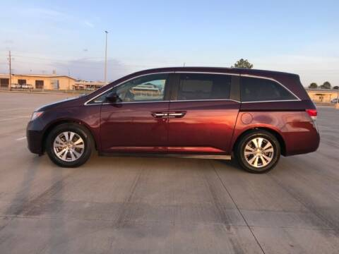 2014 Honda Odyssey for sale at ALL AMERICAN FINANCE AND AUTO in Houston TX