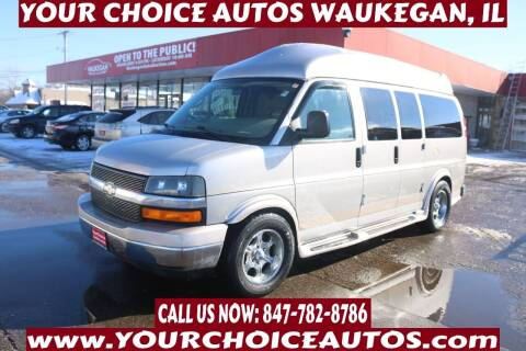 2008 Chevrolet Express Cargo for sale at Your Choice Autos - Waukegan in Waukegan IL