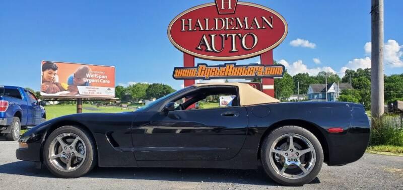 2000 Chevrolet Corvette for sale at Haldeman Auto in Lebanon PA