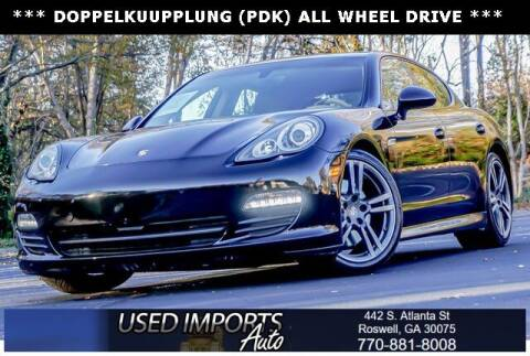 2013 Porsche Panamera for sale at Used Imports Auto in Roswell GA