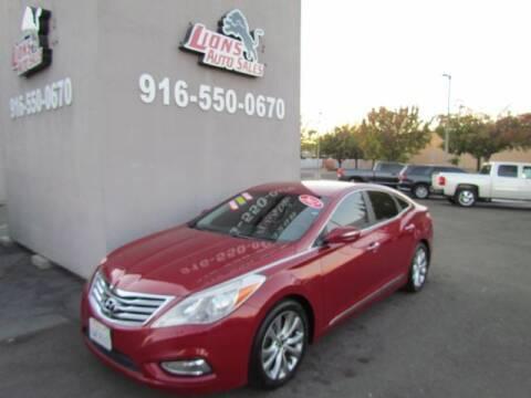 2012 Hyundai Azera for sale at LIONS AUTO SALES in Sacramento CA