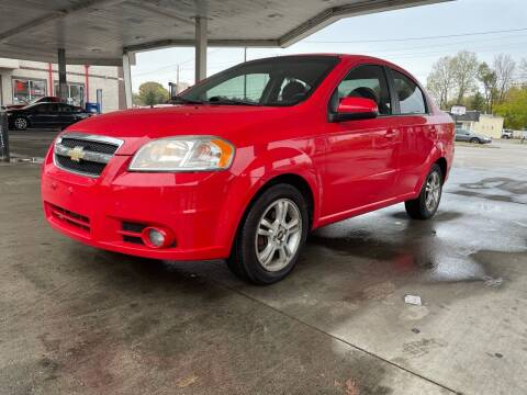 2010 Chevrolet Aveo for sale at JE Auto Sales LLC in Indianapolis IN